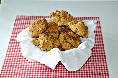 Old Bay Cheddar Biscuits