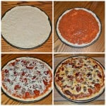 Easy Seasoned Pizza Crust