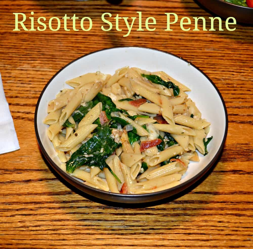 risotto style penne 4