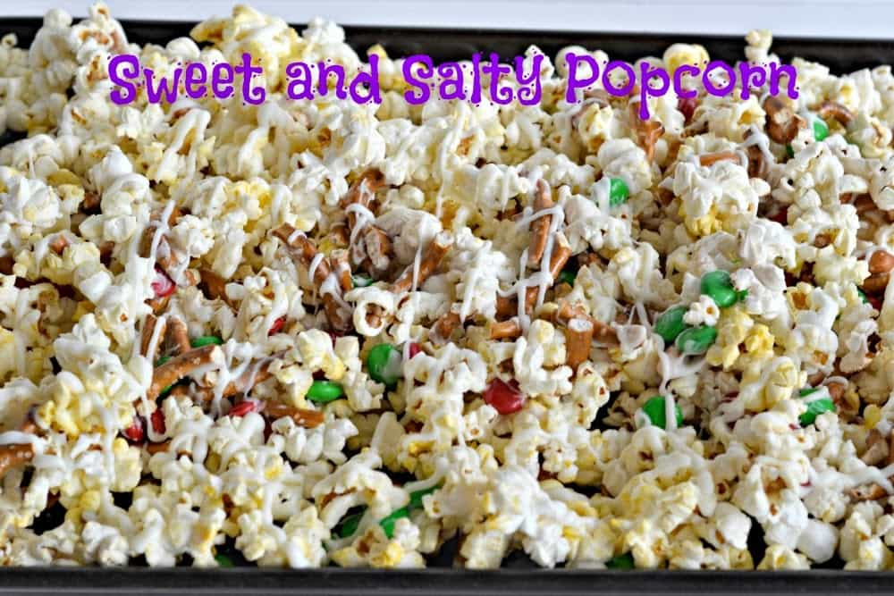 Sweet and Salty Popcorn will satisfy all your cravings!