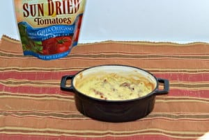 Brie and Sun Dried Tomato Dip