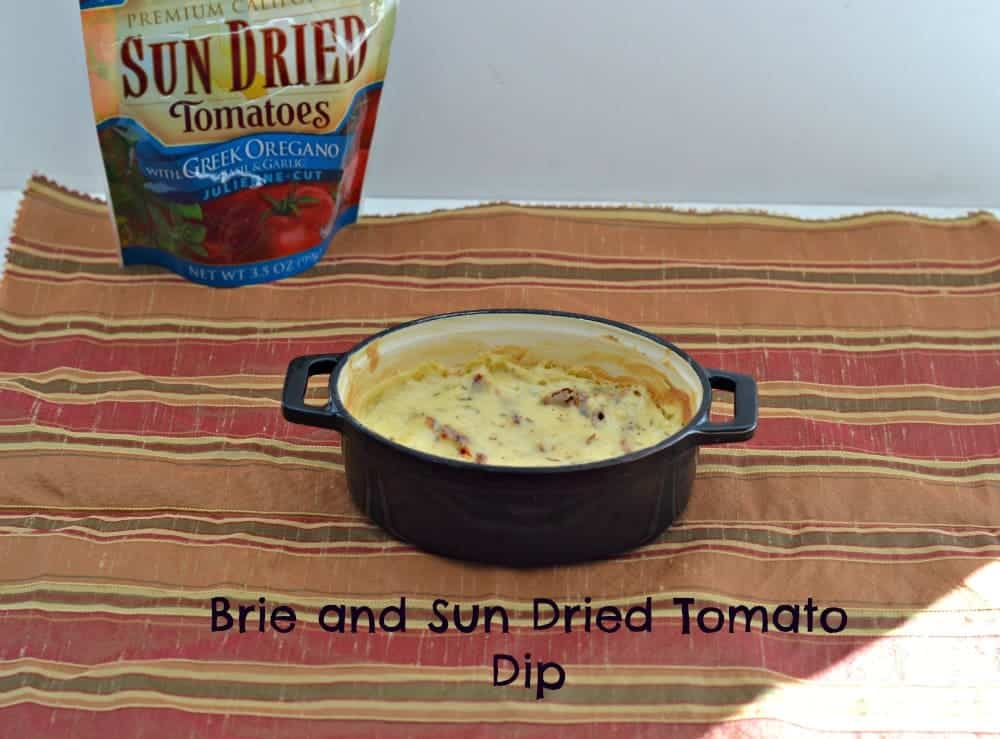 Brie and Sun Dried Tomatoes