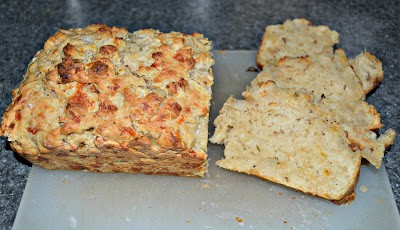 Quick Cheddar Beer Bread