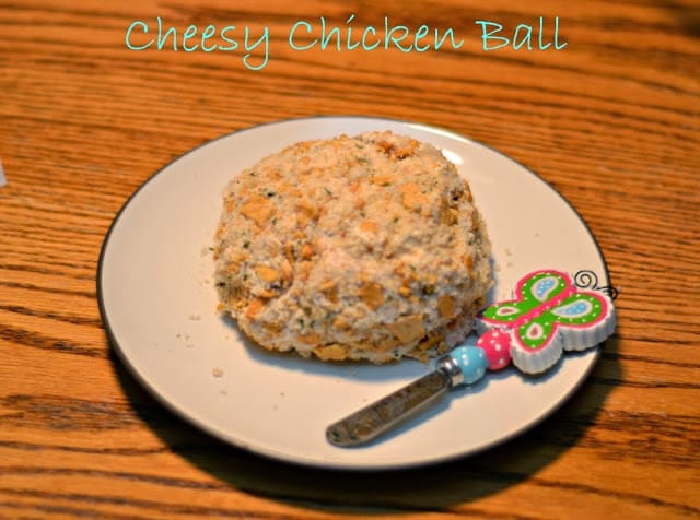 Cheesy Chicken Ball Appetizer