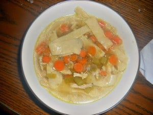 Crock-Pot Chicken Soup with Homemade Noodles