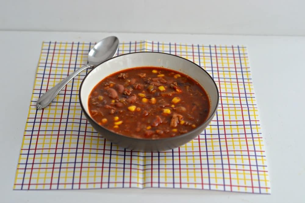 Chili con Tres Carne:  www.hezzi-dsbooksandcooks.com