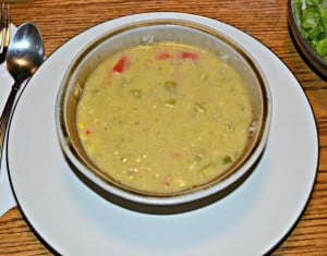 Corn and Green Chili Bisque