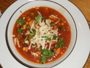 Crock-Pot Chicken Enchilada Soup