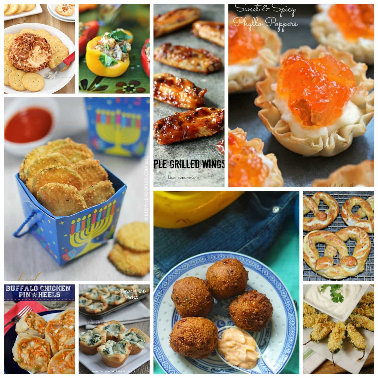 30 Game Day Appetizer Recipes
