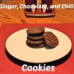 Ginger, Chocolate, and Chili Cookies