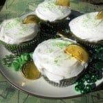 Green Velvet Cupcakes for What's Baking?