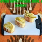 Pear, Brie, and Honey Crostini #SundaySupper