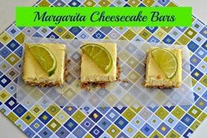 Margarita Cheesecake Bars for #NationalMargaritaDay