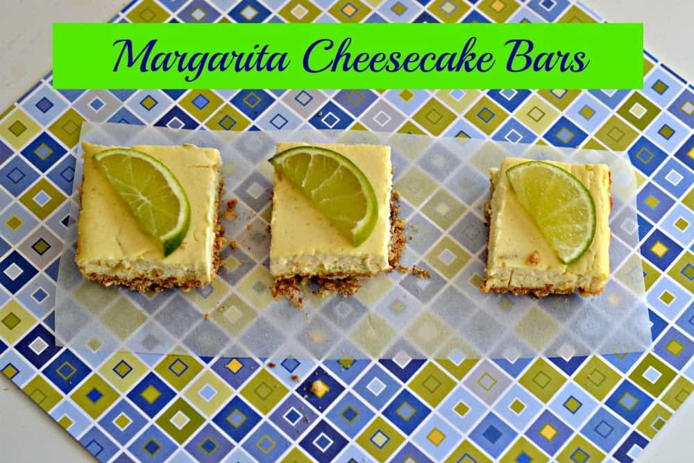 Margarita Cheesecake Bars for Margarita Day!