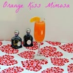 Orange Kiss Mimosa for Valentine's Day