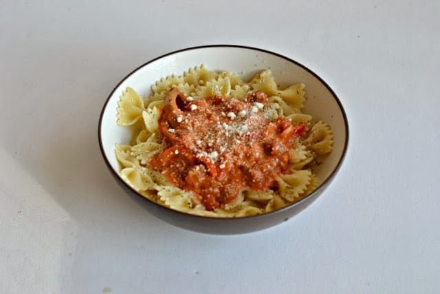 Stove Top Pasta with Sausage and Peppers