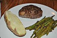 Pepper Crusted Filet