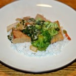 Tofu and Bok Choy in Garlic Sauce:  CSA Wednesdays