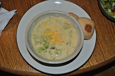 Broccoli and Cheese Potato Soup (Lightened Up!)