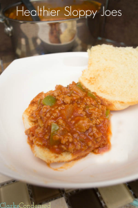 Healthier Sloppy Joes:  Guest Post from Katie of Clarks Condensed