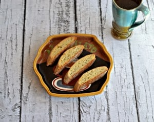 Tea Scented Biscotti