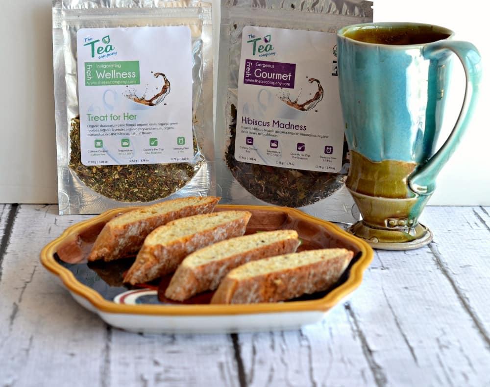 Hibiscus Tea Biscotti www.hezzi-dsbooksandcooks.com