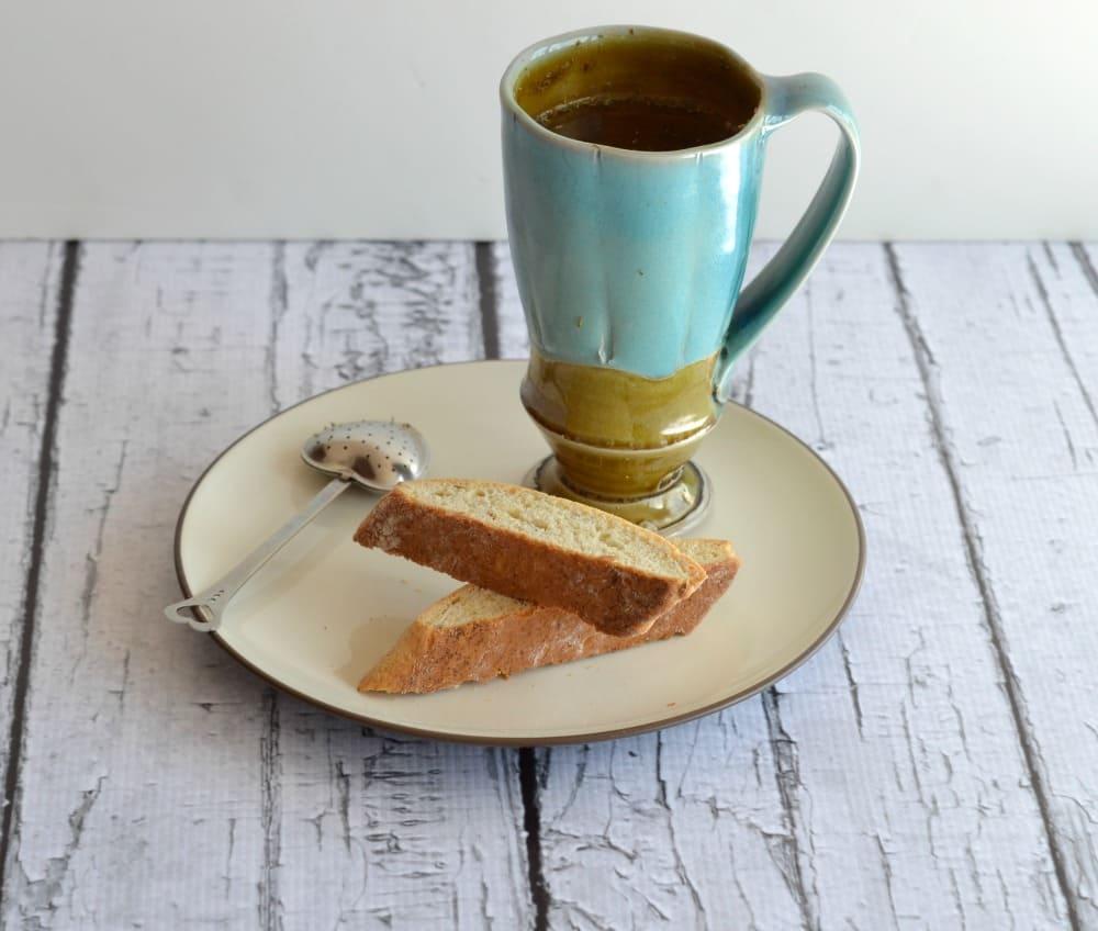 Hibiscus Tea Biscotti