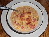 Jalapeno Popper Chicken Chili #SundaySupper
