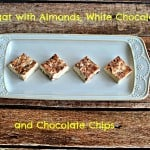 Nougat with Almonds, White Chocolate, and Chocolate Chips:   Daring Bakers
