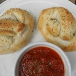 Pizza Stuffed Pretzels