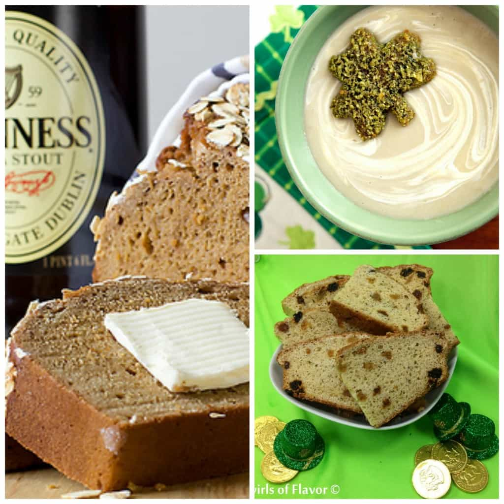 St. Patrick's Day bread and soup
