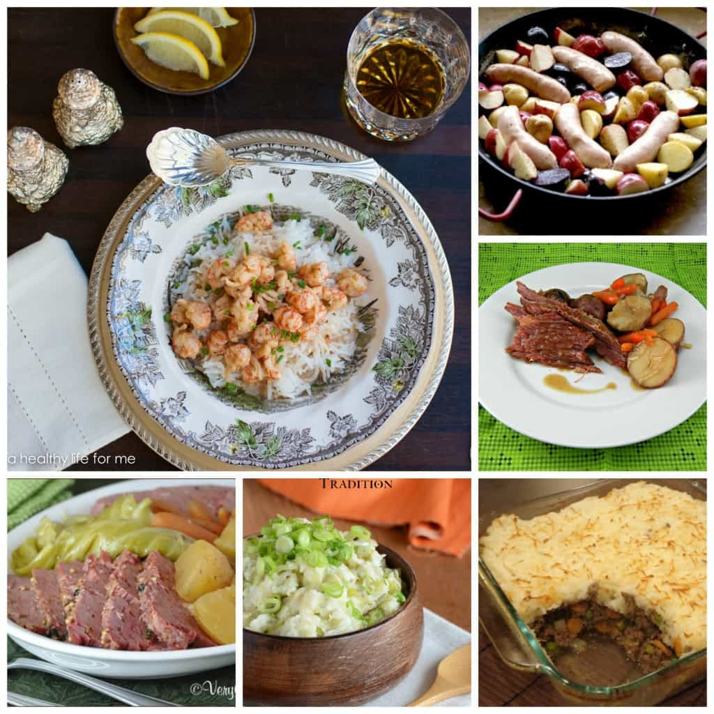 St. Patrick's Day entrees
