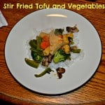 Stir-fried Tofu and Vegetables with Chili Sauce