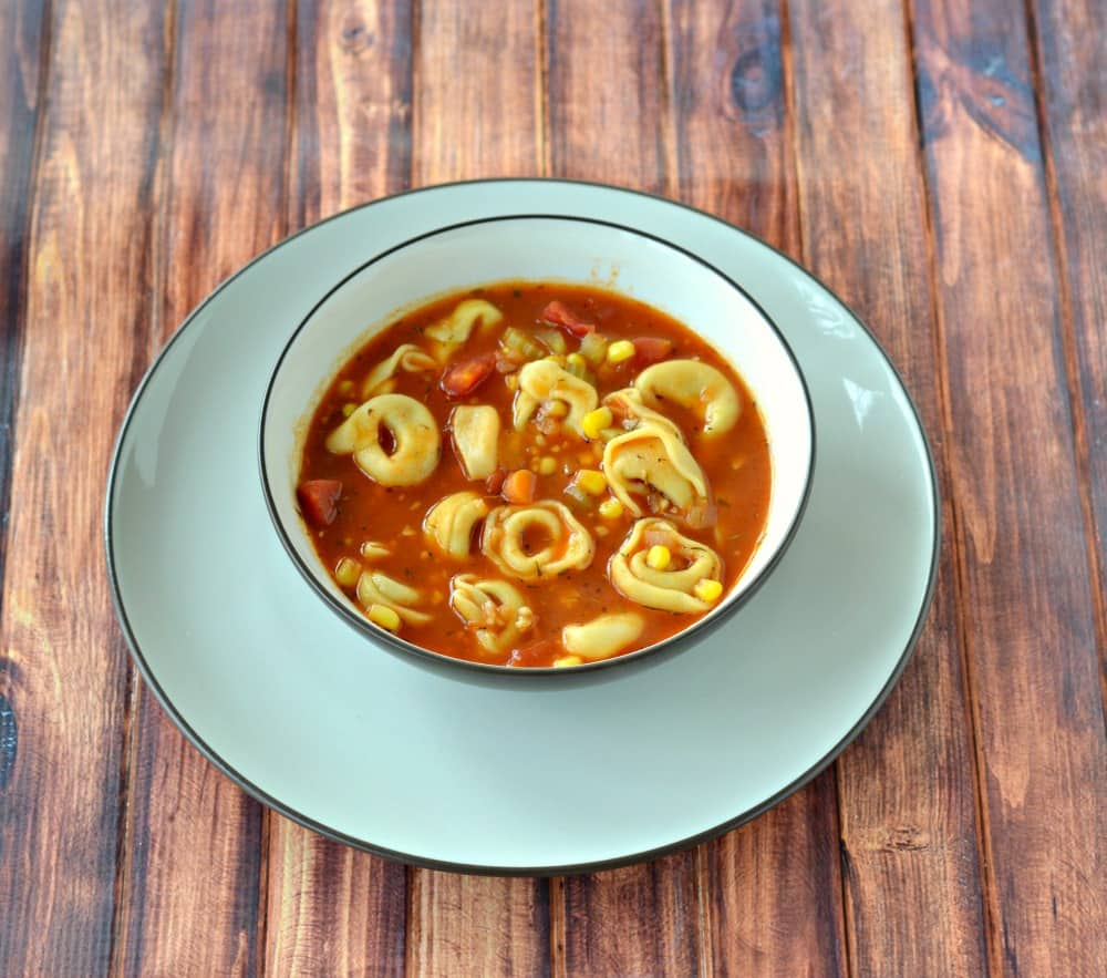 Vegetable Tortellini Soup   Hezzi-D's Books and Cooks