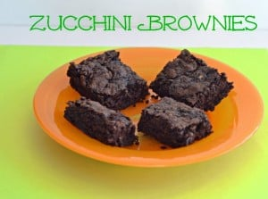 Vegan Zucchini Brownies