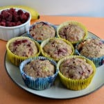 Banana Raspberry Muffins (with hidden vegetables): Daring Bakers