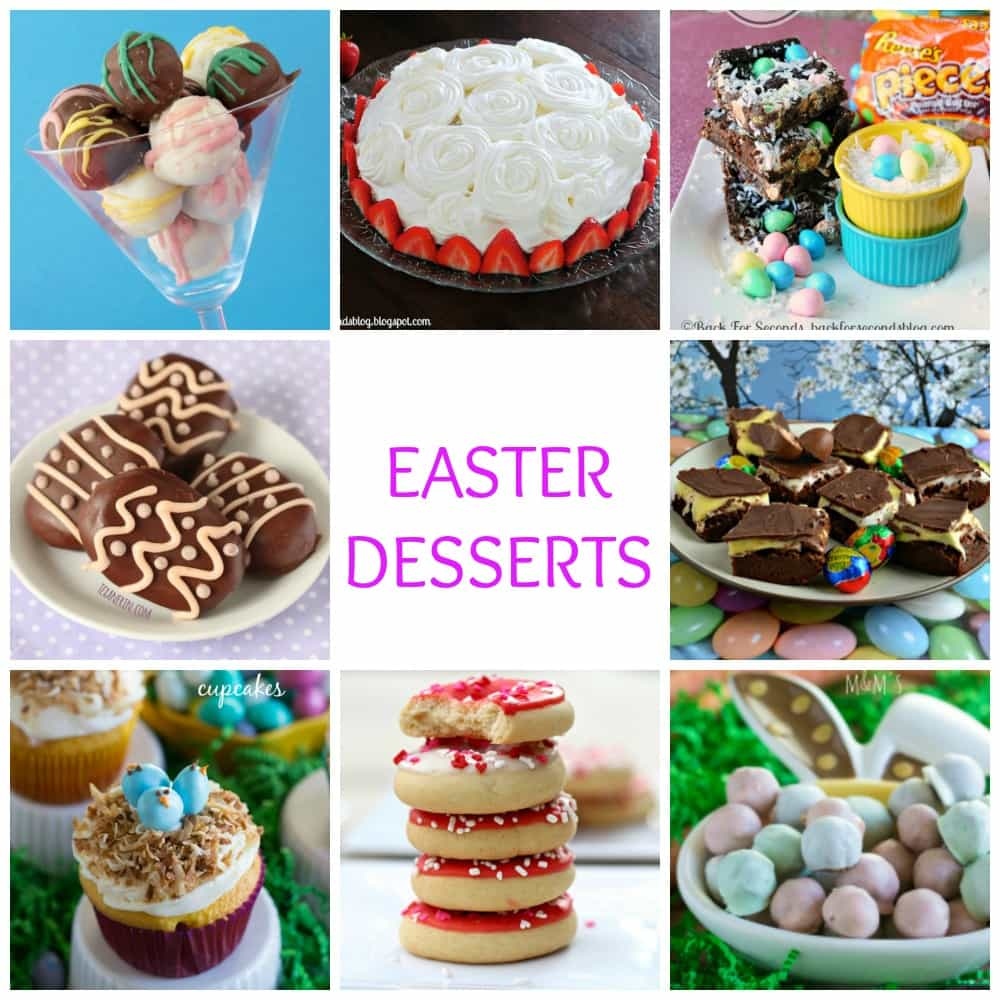 17 Amazing Easter desserts that your family and friends will love!