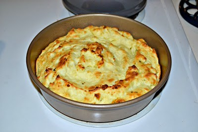 Mashed Potato Souffle