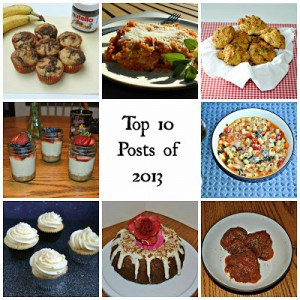 Happy 2014! My Top 10 Most Popular Recipes of 2013 + my 3 Favorite Books!