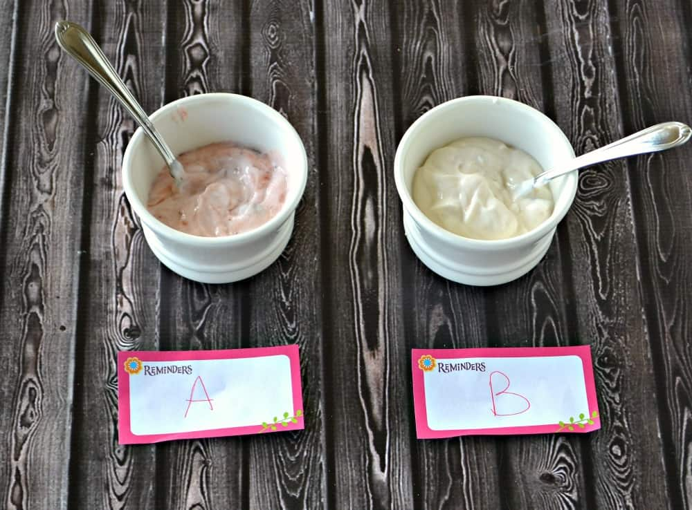 Yoplait 100 Tasteoff