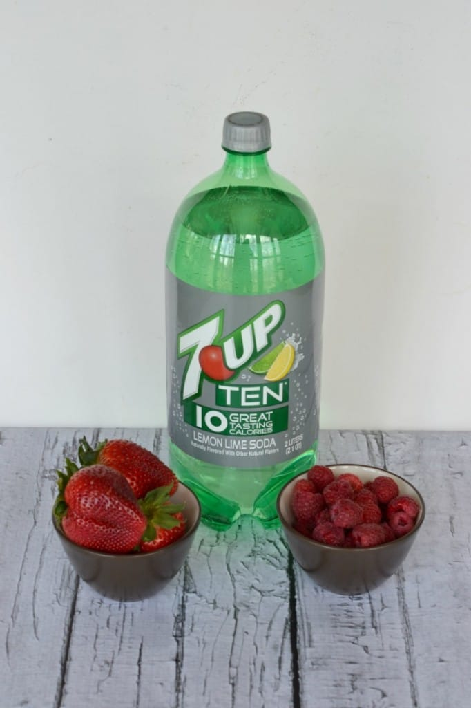 7UP TEN makes delicious popsicles
