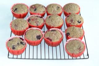 Chai Berry Muffins (Vegan)