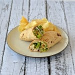 Chicken Caesar Hummus Wraps #HummusDay