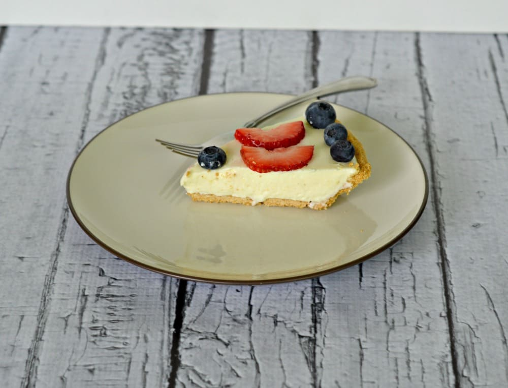 No Bake Cheesecake using Davidson's Safest Choice Eggs