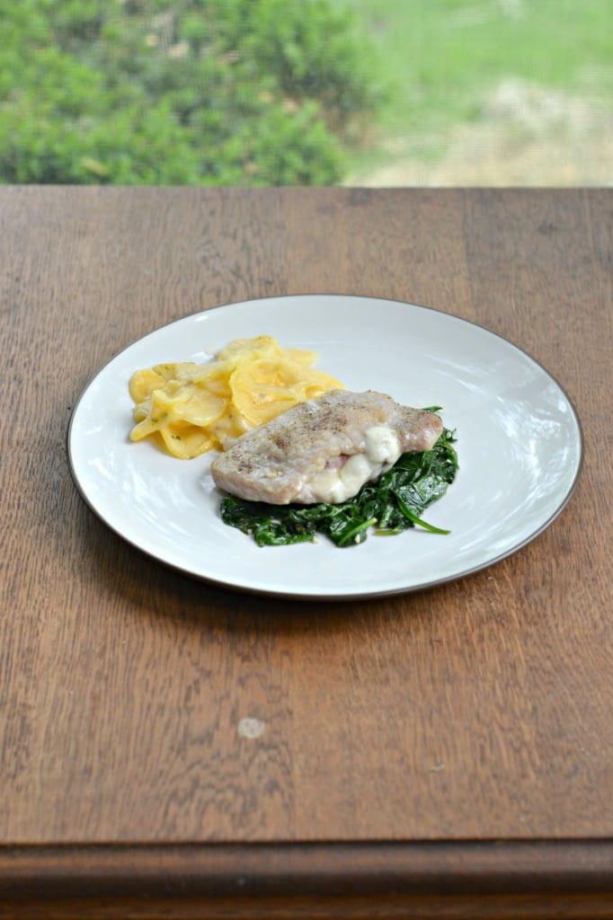 Pork Chops Saltimbocca