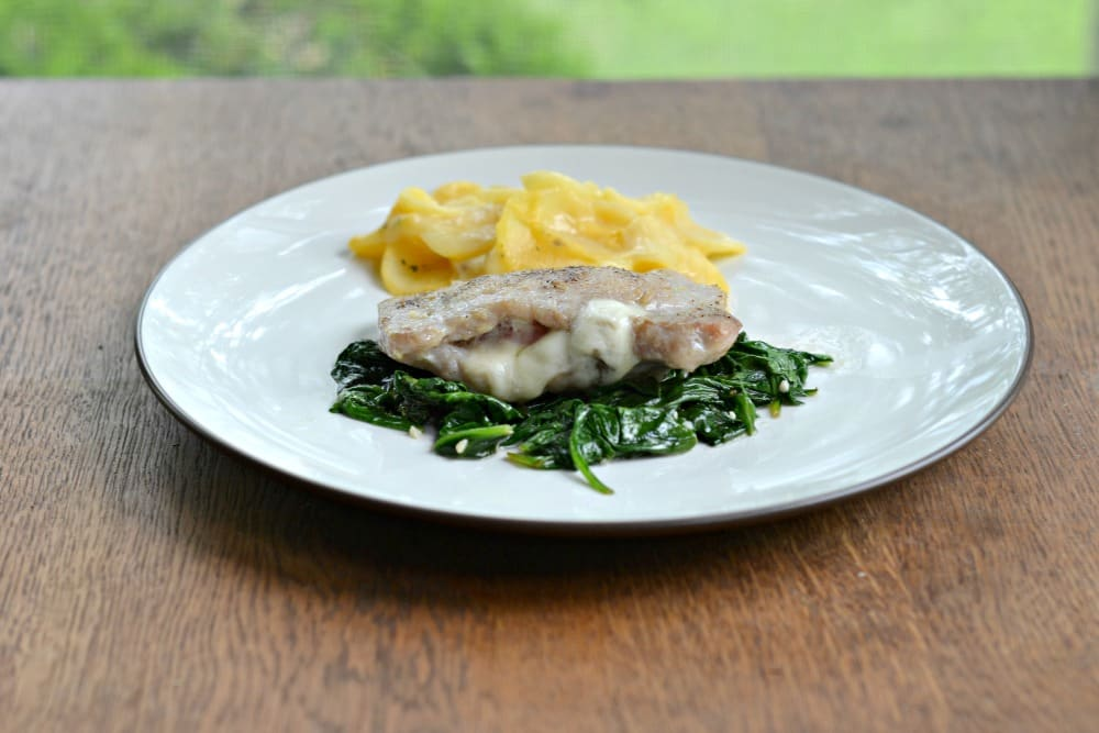 Pork Chops Saltimbocca:  Hezzi-D's Books and Cooks