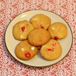 Red and White Chocolate Chip Cookies