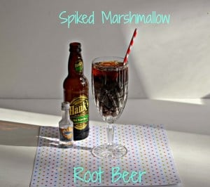 Spiked Marshmallow Root Beer
