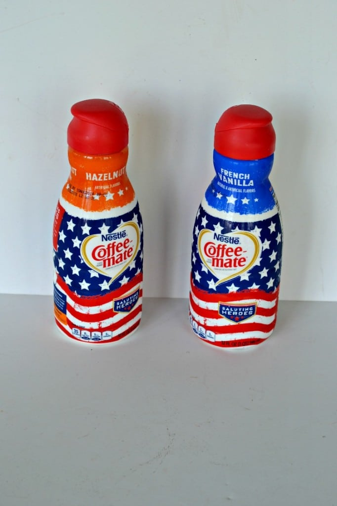 New Coffee-Mate red, white, and blue creamers: #CMSalutingHeroes