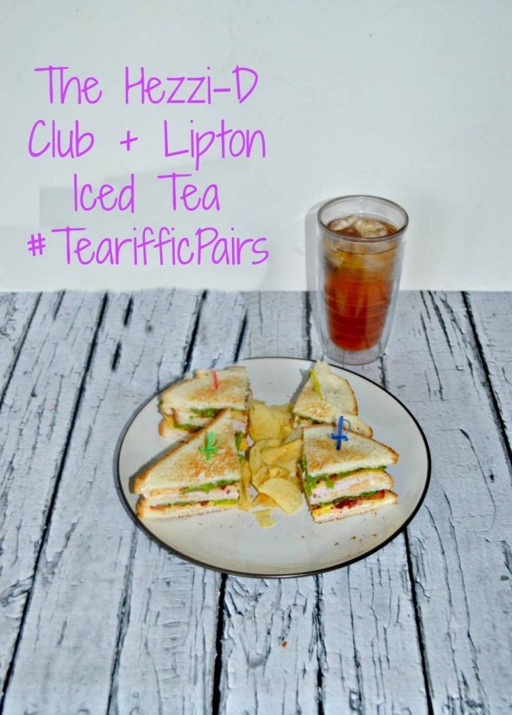 The Hezzi-D Club and Lipton Iced Tea are the perfect summer pairing.